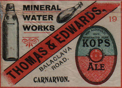 Thomas & Edwards, Mineral Water Manufacturers
