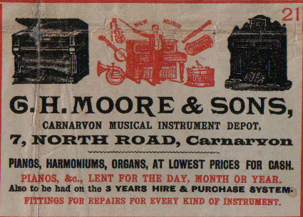 G. H. Moore & Sons, Musical Instrument Depot
