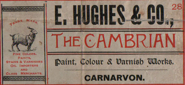 E. Hughes & Co., Cambrian Paint & Varnish Works