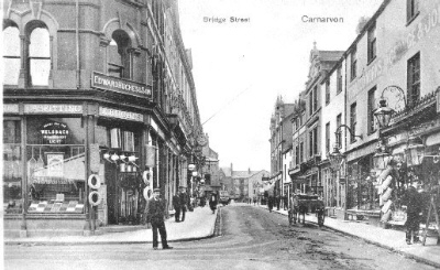 Bridge Street, early 20th. Century. © K. Morris