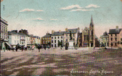 Castle Square from the Castle, c. 1912. © K. Morris