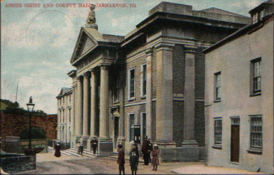 Assize Court & County Hall, Castle Ditch, c. 1906. © K. Morris