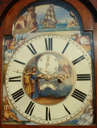 Daniel Owen clock face