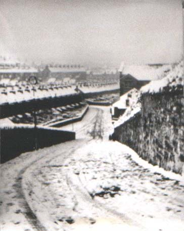 Gypsy Hill in the snow. © G. Davies