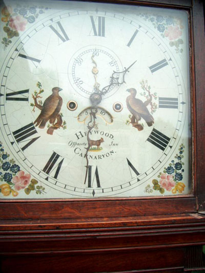 Thomas Heywood clock face