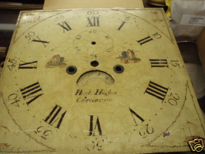 Hugh Hughes clock face