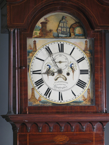 John Griffith clock face