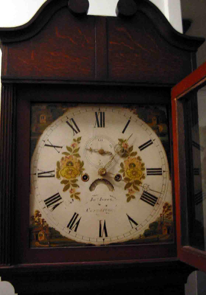 John Jones clock face