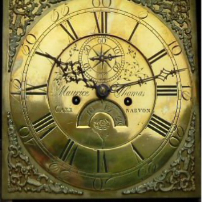 Maurice Thomas clock face