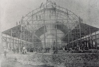 Building the Pavilion