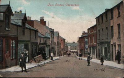 The top end of Pool Street, looking down towards the town centre, c. 1910. © K. Morris