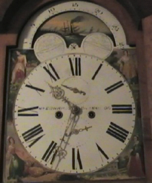 William Edwards clock face